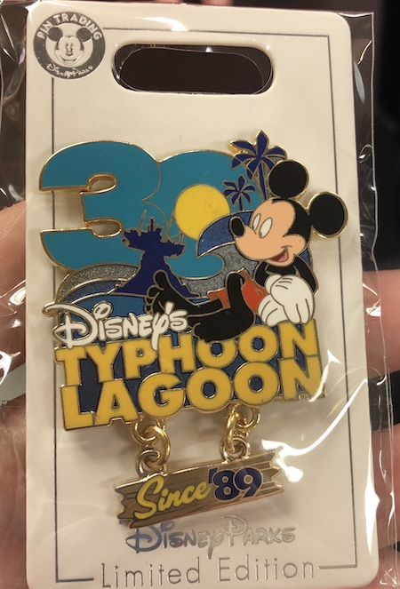 Disney's Typhoon Lagoon 30th Anniversary Cast Member Pin