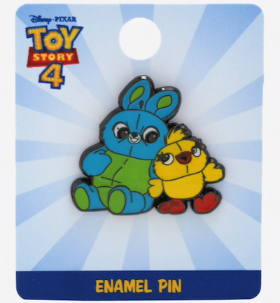 Ducky & Bunny Toy Story 4 BoxLunch Pin