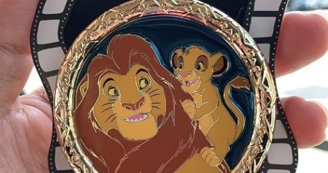 Father's Day 2019 Mufasa & Simba Disney Pin