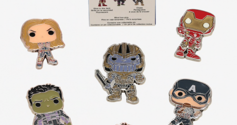 Funko Pop! Avengers Endgame BoxLunch Mystery Pin Collection