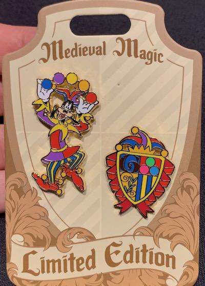 Goofy Medieval Magic Pin Set