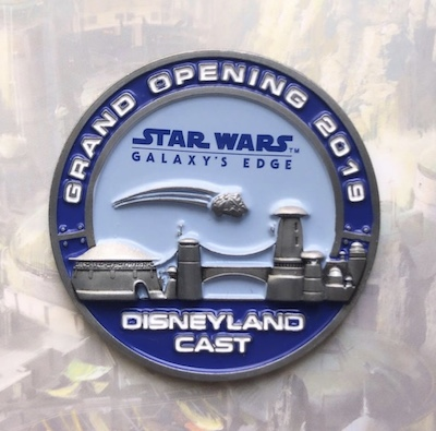 Grand Opening 2019 Star Wars Galaxy's Edge Cast Pin