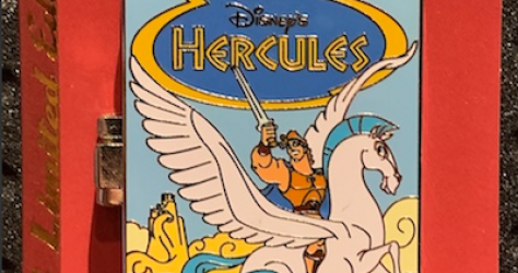 Hercules Pop-Up Disney Pin