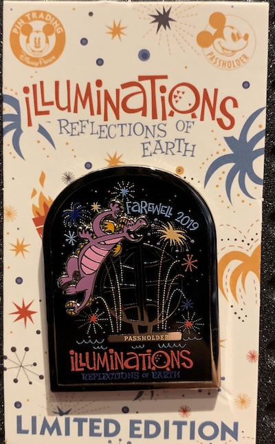Illuminations Farewell 2019 Annual Passholder Disney Pin