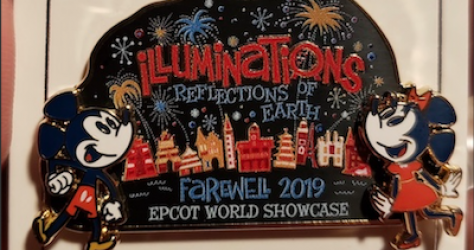 Illuminations Farewell 2019 CM Pin
