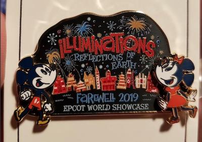 Illuminations Farewell 2019 CM Pin