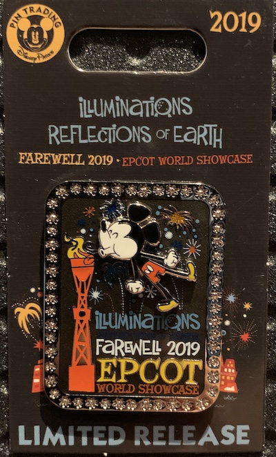 Illuminations Farewell 2019 Disney Pin