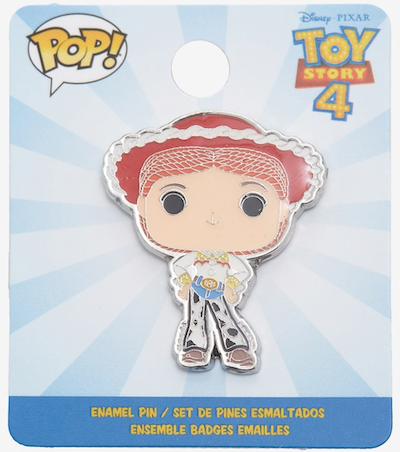 Jesse Toy Story 4 Funko Pop Pin