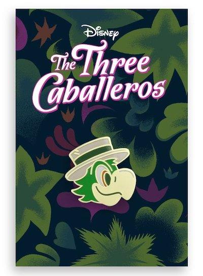 Jose Three Caballeros Mondo Pin