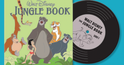 Jungle Book Vintage Vinyl Pin