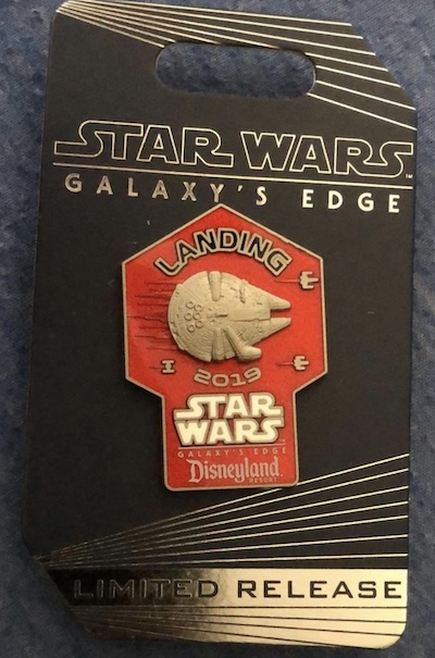 Landing 2019 Star Wars Galaxy's Edge Cast Pin