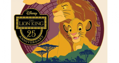Lion King 25th Anniversary DEC Pin