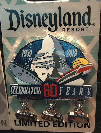 Celebrating 60 Years of Exploration and Adventure Pin