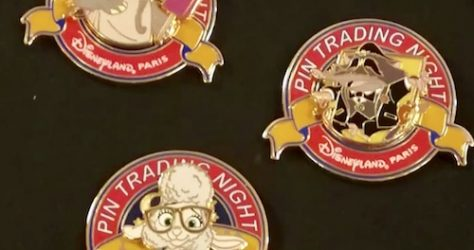 May 2019 Disneyland Paris Pin Trading Night Pins