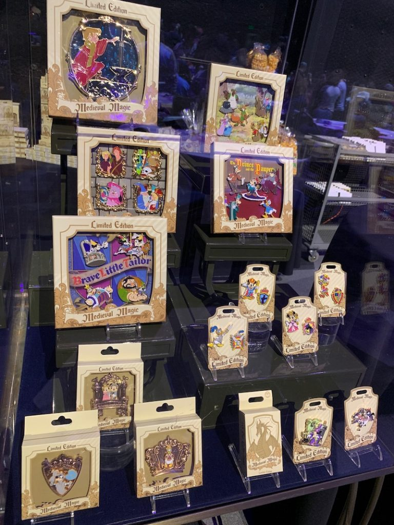 Medieval Magic Pin Collection
