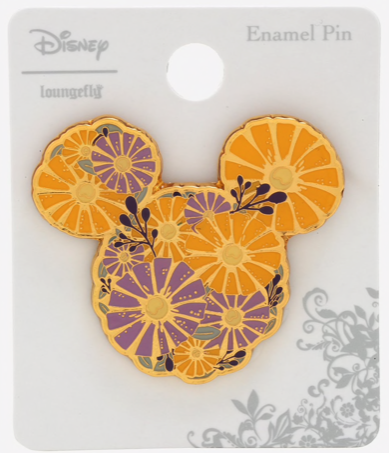 Mickey Flower Fruit BoxLunch Pin