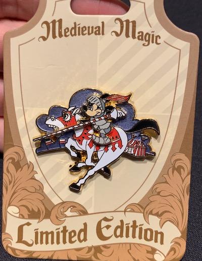Mickey Knight Medieval Magic Pin