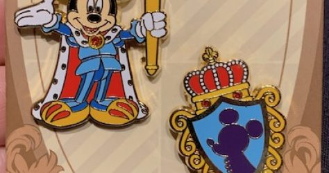 Mickey Medieval Magic Pin Set