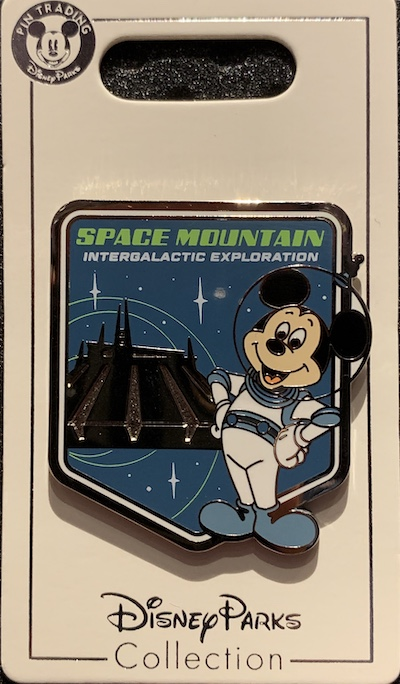 Mickey Mouse Space Mountain Pin