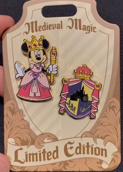 Minnie Medieval Magic Pin Set