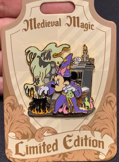 Minnie Sorceress Medieval Magic Pin
