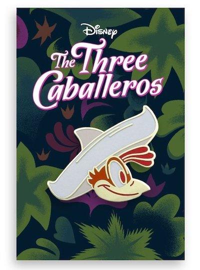 Panchito Three Caballeros Mondo Pin