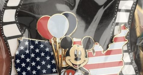 Patriotic Mickey Surprise Pin Release