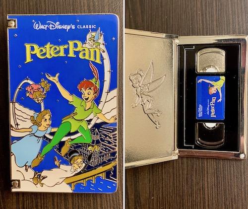 Peter Pan VHS Tape Pin