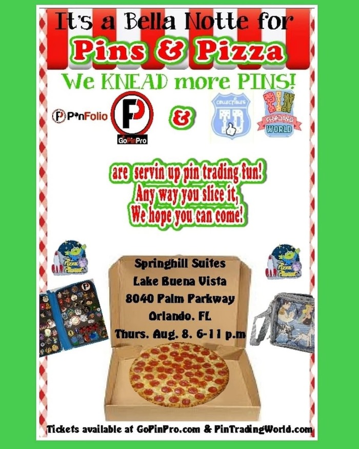 Pins & Pizza 2019 Pin Event