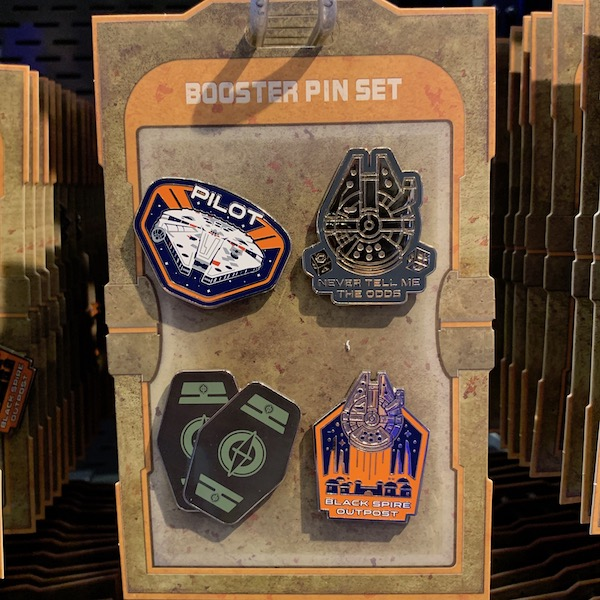 Resistance Star Wars Galaxy's Edge Booster Pin Set