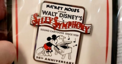 Silly Symphony 90 Years Pin