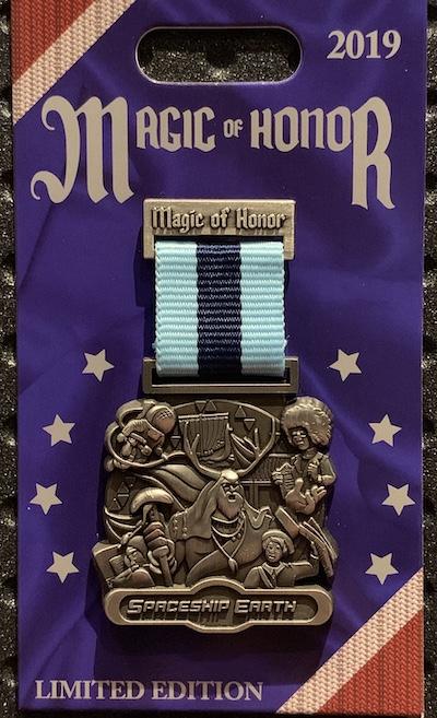 Spaceship Earth Magic of Honor Pin