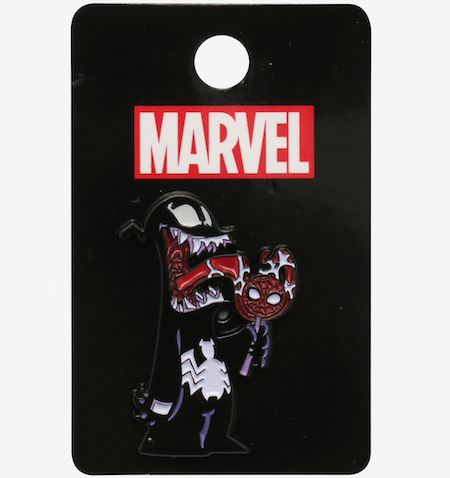 Spider-Man Venon Lollipop Hot Topic Pin