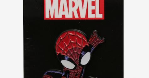 Spider-Man Web-Slinging Hot Topic Pin