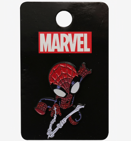 Spider-Man Web-Slinging Hot Topic Pin