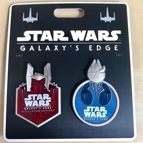 Star Wars Galaxy's Edge Disney Travel Company Pin Set