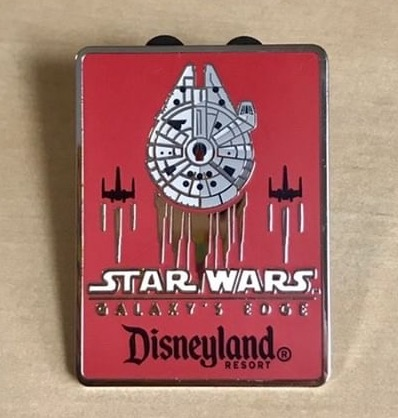 Star Wars Galaxy's Edge Disney Travel Company Pin