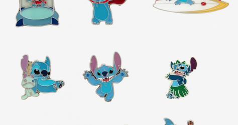 Stitch Hot Topic Disney Blind Box Pins