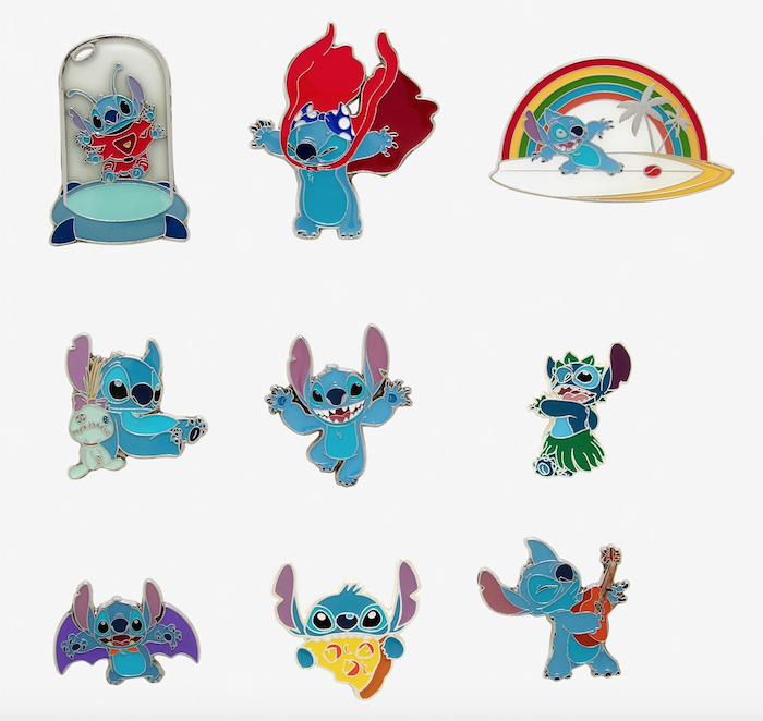 Stitch Hot Topic Disney Blind Box Pins - Disney Pins Blog