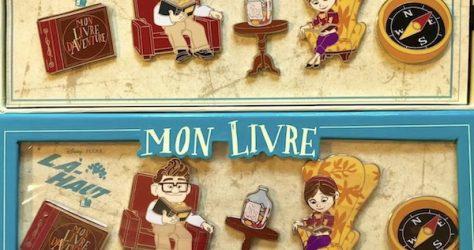 Surprise UP Pin Set at Disneyland Paris
