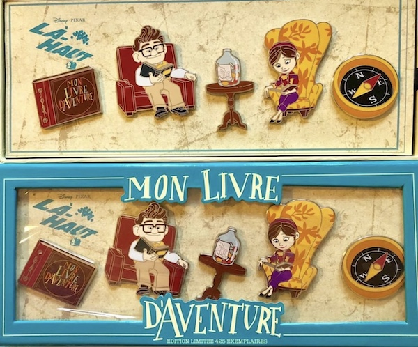 Surprise UP Pin Set at Disneyland Paris