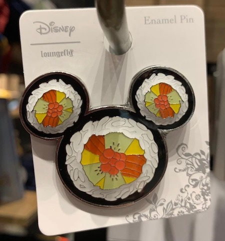 Sushi Mickey Icon BoxLunch Disney Pin