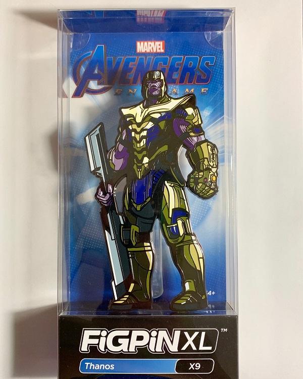Thanos XL Avengers Endgame FiGPiN Pin