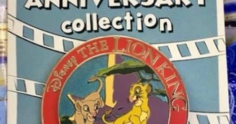 The Lion King 25th Anniversary Cast Member Pin