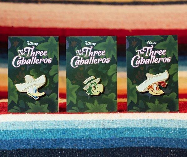 The Three Caballeros Mondo Disney Pins