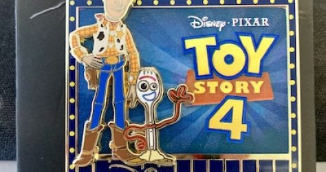 Toy Story 4 Disney Store Times Square Pin