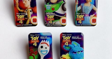 Toy Story 4 McDonald's Pins