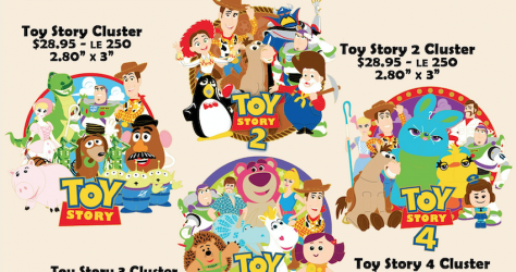 Toy Story Disney Employee Center Pins