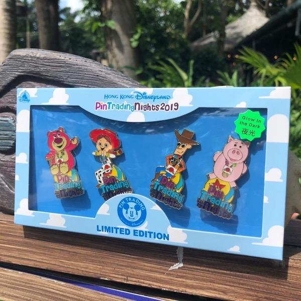 Toy Story Pin Set HKDL June 2019 PTN