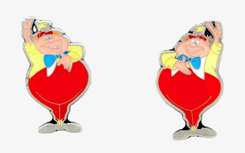 Tweedle Dee & Tweedle Dum Hot Topic Pins